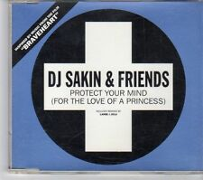 (EW407) DJ Sakin & Friends, Protect Your Mind For The Love Of A Princess 1999 CD