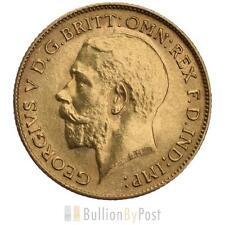 Half Sovereign George V