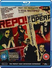 REPO - A GENETIC OPERA - BLU-RAY - REGION B UK