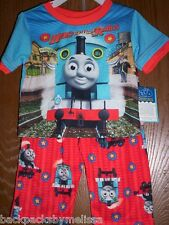 Thomas the Train Boy's 18 mos Pajamas Set NeW Shirt Pants The Tank Engine NWT