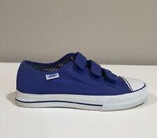 Vans Women's Prison Issue Blue Canvas Shoe Size 7.5 *Rare*