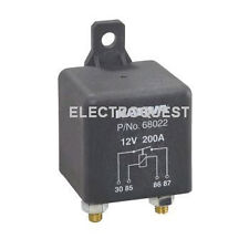 Heavy Duty 12 Volt Battery Split Charging Relay 200 Amp