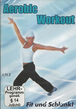DVD + Aerobic Workout + Fit und Schlank + Sport + Training + Figur + Fitness +