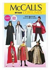 McCalls SEWING PATTERN M7225 Misses/Mens/Teen Boys Cape & Tunic Costumes,Easy