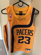 Ron Artest Nike Rewind Indiana Pacers Jersey Men L VTG Sewn NBA Miller O'neal