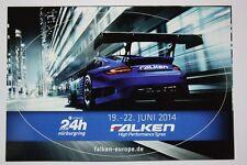 24h-carrera nurburgring norte bucle 2014-halcones equipo Porsche-ORIG. pegatinas
