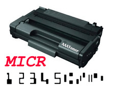 """MICR Toner Cartridge"" for Check Print Ricoh 406465 Aficio SP 3500N, SP 3500SF"