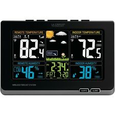 NEW La Crosse Technology 308-1414mb Wireless Weather Station With Color Lcd