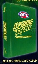 2013 AFL Select Prime officiial album and Natanui card