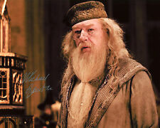 Michael Gambon - Albus Dumbledore - Harry Potter - Signed Autograph REPRINT