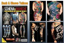 BACK & SLEEVE TATTOO Reference Book 64-pages Color Photo Design Supply