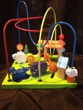 Wooden Beaded Wired Table Top Toy