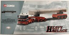Corgi Heavy Haulage CC11802 Leyland Tractor, Axle And Concrete Beam