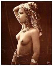 Vintage 1900s Nude Women 8X10 Fine Art Print Photo Picture Antique Old Burlesque