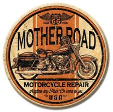 "Mother Road Repair - Route 66 - Round 3"" Refrigerator Ice Box Magnet M1697"