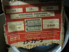 "Midwest Electric # 169 4"" Set Screw Coupling For Rigid"