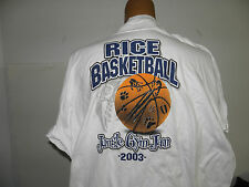 NCAA Rice Univ Owls 2003 Jungle Gym Jam T-Shirt Size XL (NWOT)