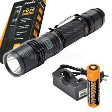 Fenix PD35 XM-L2 U2 960 Lumens LED Tactical Flashlight w/ Rechargeable Set
