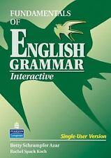 Fundamentals of English Grammar Interactive CD-ROM, Koch, Rachel Spack, Azar, Be