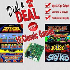 19 in 1 Jamma arcade board DEFENDER/ROBOTRON/SUPER MARIO BROS ETC