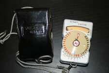Vintage Sunset Unittic Light Meter Model 31 with Case
