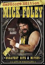 WWE - Mick Foley's Greatest Hits and Misses (DVD, 2007, 3-Disc) Region: 4 NTSC