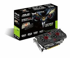 Asus GeForce GTX 960 Strix DirectCU II Graphics Card, 2GB GDDR5, PCI Express 3.0