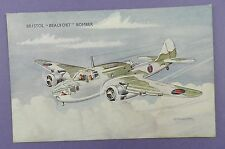Bristol Beaufort Bomber - Vintage Unused Art Postcard - Bannister Artwork