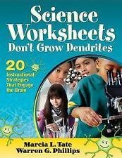 Science Worksheets Don't Grow Dendrites : 20 Instructional Strategies That...