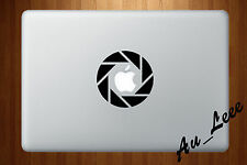 Macbook Air Pro Vinyl Skin Sticker Decal - Aperture Photography Camera  #MAC220