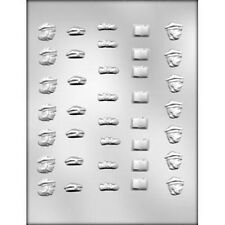 Graduation Mini Assortment Chocolate Candy Mold from CK #13510 - NEW