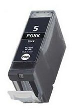10X BLACK Ink Cartridges for CANON PGI-5Bk, Pixma iP4500/ iP5200/ MP500/ MP600