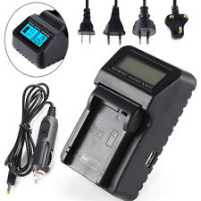 LCD Car Wall Battery Charger For LP-E8 Canon EOS 550D 600D 650D 700D DSLR Camera