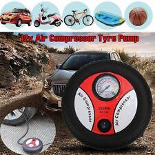 1PC Mini Portable Electric Air Compressor Pump Car Tire Inflator 12V 260PSI New