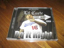 Chicano Rap CD Lil Cuete - Do it Right - Fingazz - West Coast Latin 2014