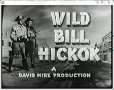 WILD BILL HICKOK 1951 TV WESTERN 68 UNCUT EPISODES 17 DISC BEST QUALITY&VALUE