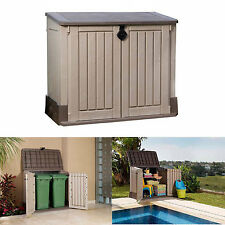 Outdoor Storage Shed Utility Garden Tool Box Garage Pool Yard Lawn Cabinet