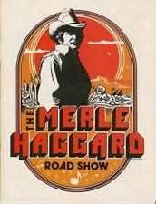"""MERLE HAGGARD """"ROAD SHOW"""" POSTER - Outlaw Country Music Legend"""