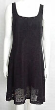 "Heart, Black ""Memphis Dress"" HB183-LC1 KNEE LENGTH COTTON POLYESTER SIZE S"