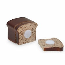 Wooden pretend role play food Erzi play kitchen, shop: Bread Velcro Loaf to cut