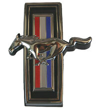 NEW 1970 Ford Mustang GRILL EMBLEM ORNAMENT Front Tri Bar Running Horse Emblem