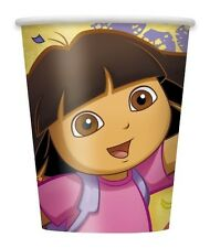 """DORA THE EXPLORER"" Birthday Party Supplies Paper CUPS 9 Oz New NIP"