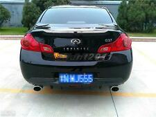 Carbon Rear Diffuser (JDM Version Only) Fit For 07-10 Infiniti G35 G37 4Dr Sedan