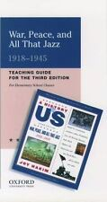 A History of US:  Book 9: A Teaching Guide for Elementary School Classes (A Hist