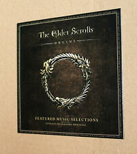 The Elder Scrolls Online promo Soundtrack Featured Music Selections very rare