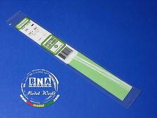 """Evergreen White Styrene Strip 0.25mmx0.5mm (.01""""x.02"""") 10pcs Length: 35cm (14"""")"""