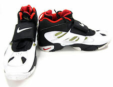 Nike Shoes Air Diamond Turf II Black/White/Red Sneakers Size 13 EUR 47.5