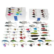 Loaded Tackle Box Set Full Fishing Equipment Lures Huge Lot Bass Baits Spinners