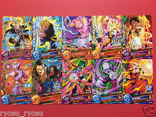 Dragon ball Z Heroes cards RARE and Common 10pcs lot from Japan Trunks Gohan