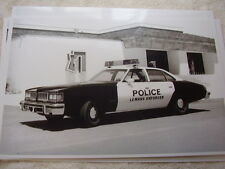 1977 PONTIAC LEMANS POLICE CAR  11 X 17  PHOTO /  PICTURE